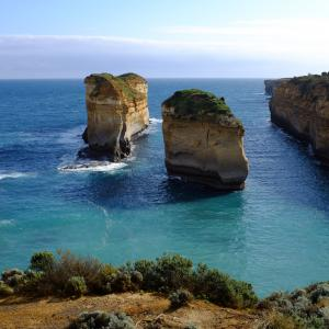 Felsformationen entlang der Great Ocean Road