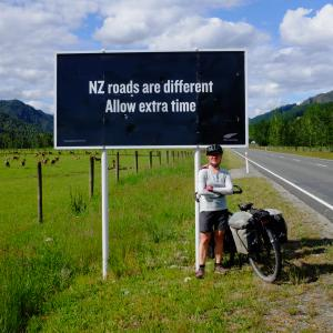 New Zealand Roads are different